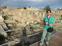 Ancient Corinto (basílica romana)