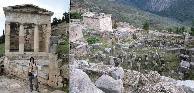 Recinto arqueológico de Delfos