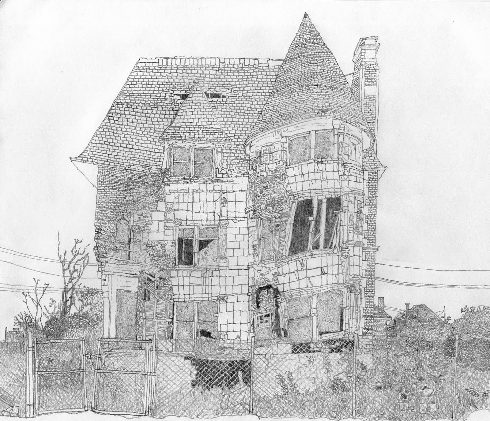 A Reciprocating Saw: William Livingston House, Detroit