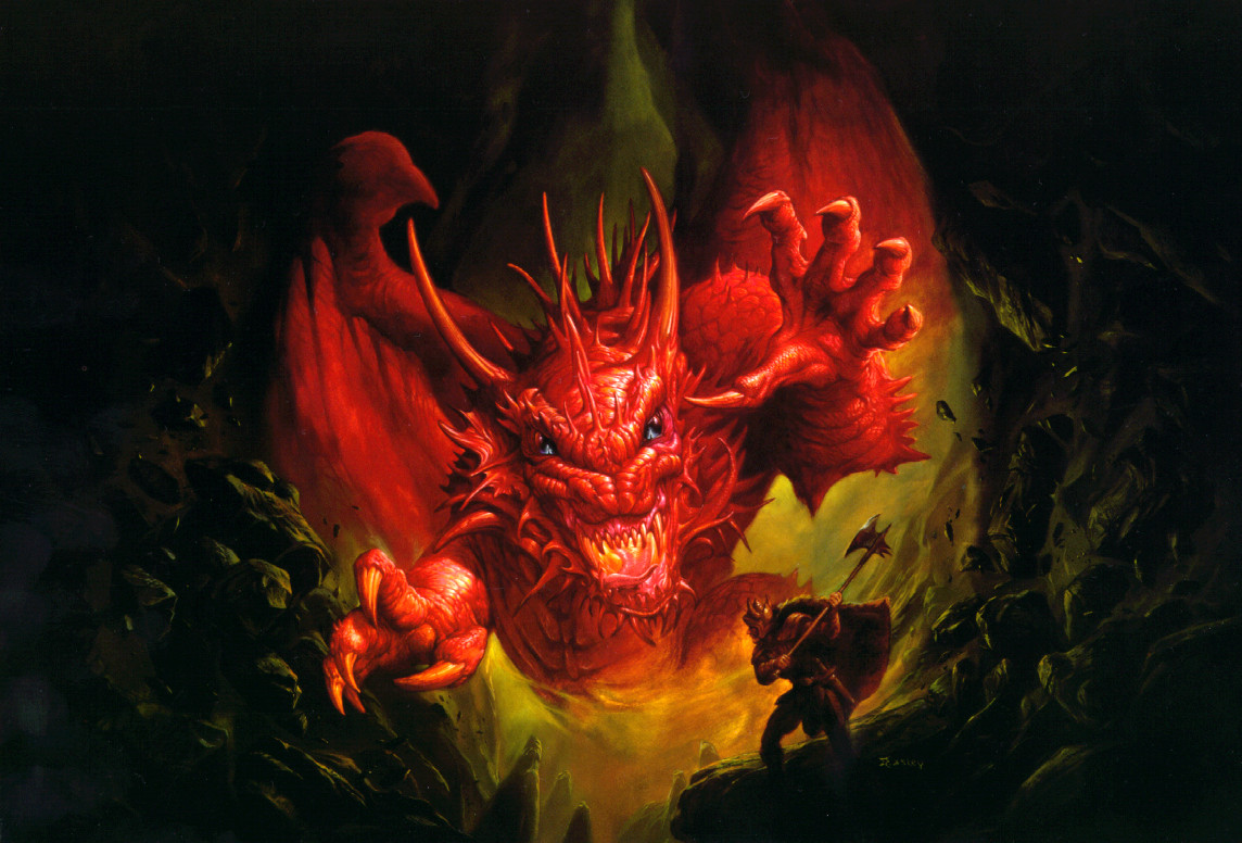 Dnd Red Dragon: Tower Of The Archmage: This Is Dungeons And Dragons