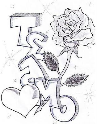 Desenhos Romanticos Para Desenhar No Caderno