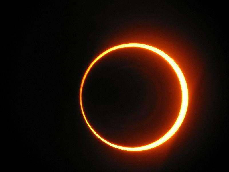 Solar eclipse India 2010 January 14