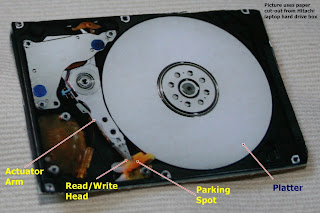 Lazy (Men's) Electronics: Reovering Data from Hard Drive Failure