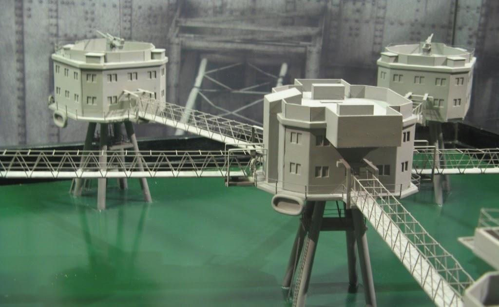 Biglee S Miniature Adventures Mausell Sea Forts