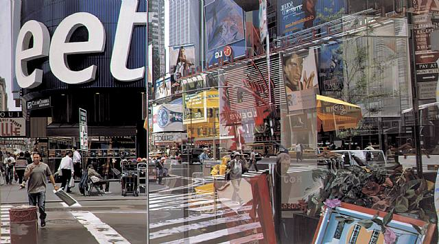 Richard Estes -Times Square 2004