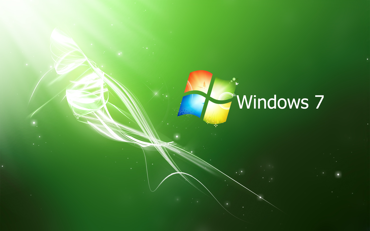 wallpaper: Windows 7 Crystal Pack : Blue - Green - Red HD Wallpapers