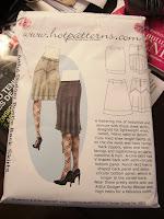 Allison C Sewing Gallery: Hot Patterns Artful Dodger Bustle