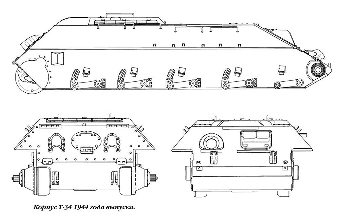 как по фото танка сделать чертеж тебе