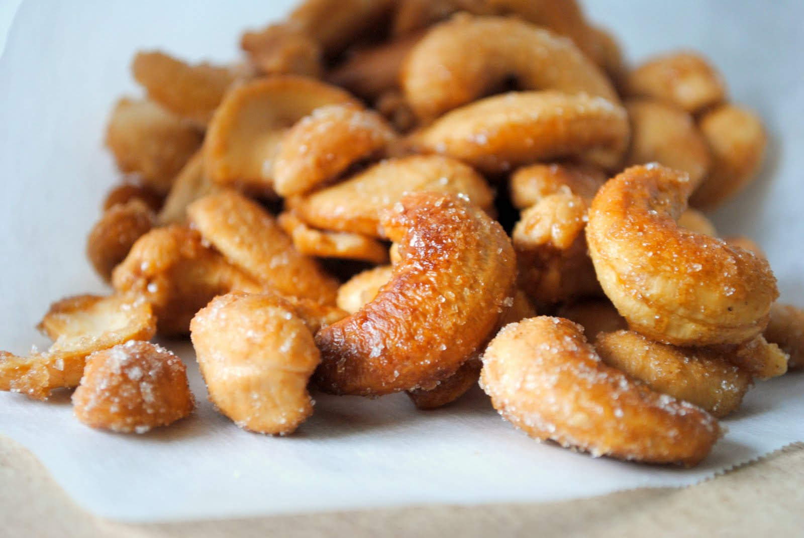 Simply Scratch Honey Roasted Cashews Simply Scratch