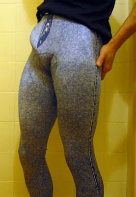 wet lycra bulge