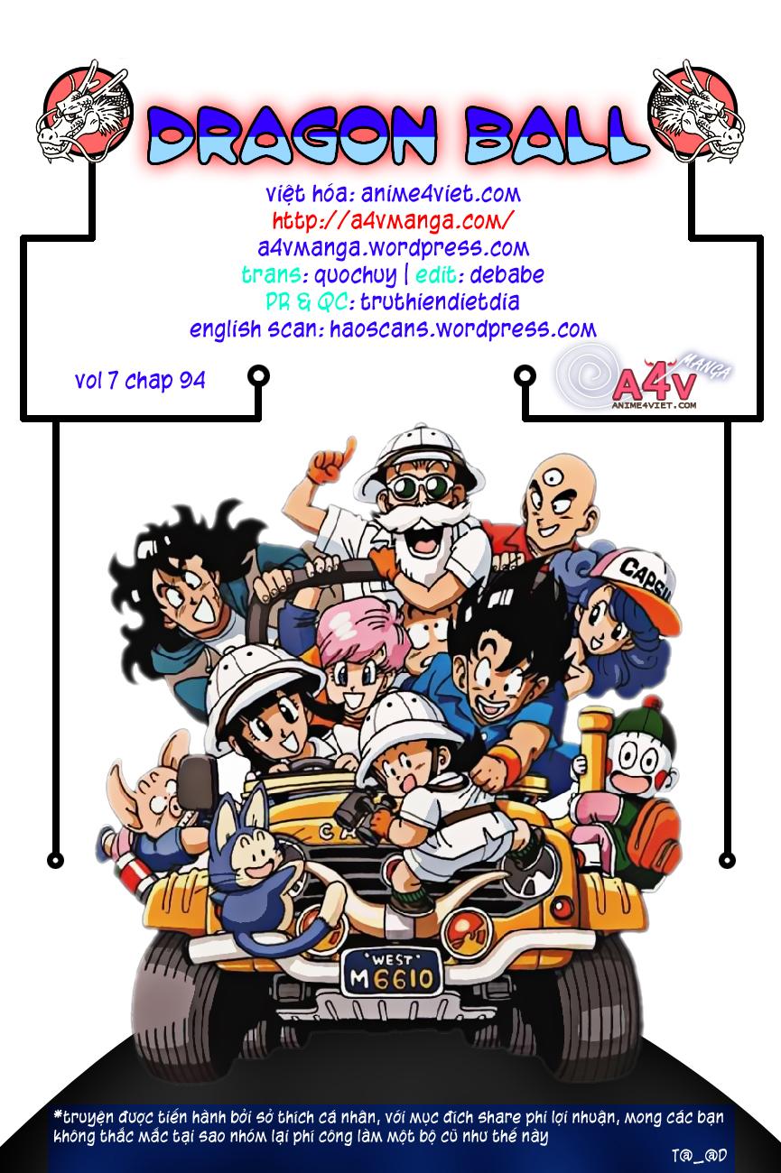 Dragon Ball chap 94 trang 15