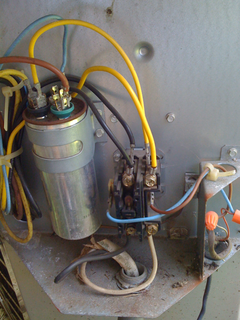 Ac Capacitor And Contactor Wiring - Wiring images on