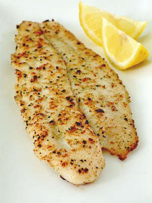 The Palate Pleaser Pan Fried Fish Fillet