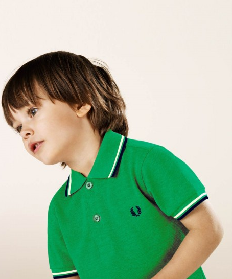 1d990b7ff7452 Collection Fred Perry Junior   Kid Dit Mode