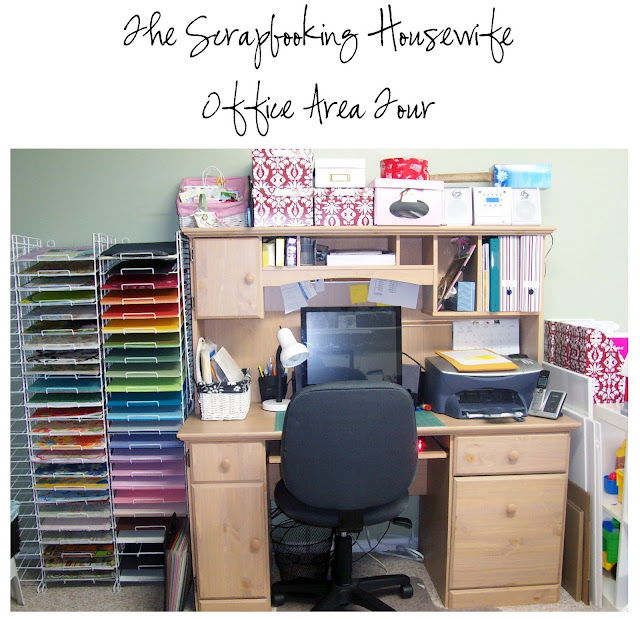Creative Scrapbook Craft Organizing Tour Part 2 of 4