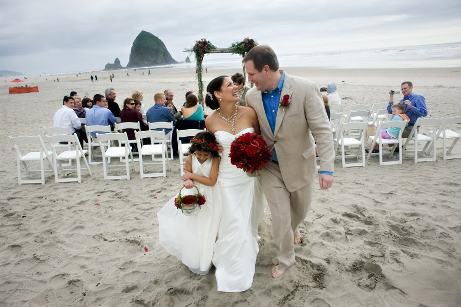 Cannon Beach Wedding I Got A Call While Back From Bride That Was Little Diffe Then Most