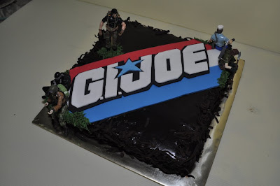 Laily S P 226 Tisserie G I Joe Theme Birthday Cakes