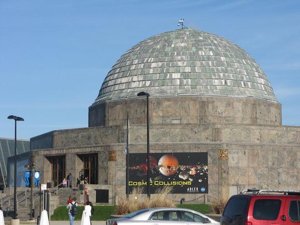 """Little """"happy"""" Adler Planetarium - Chicago"""