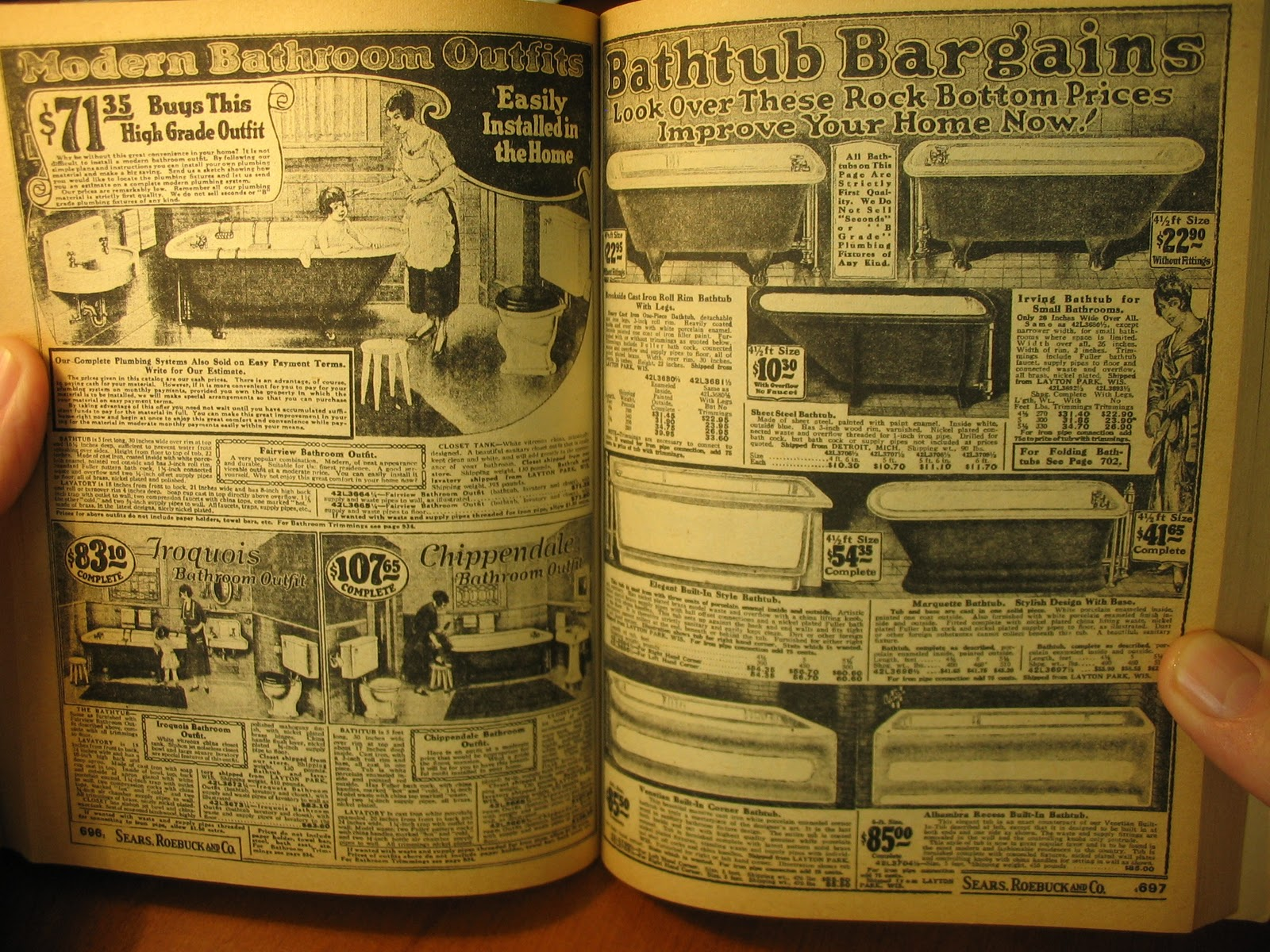 Lyrics Of Love And Lore: The 1923 Sears-Roebuck Catalogue