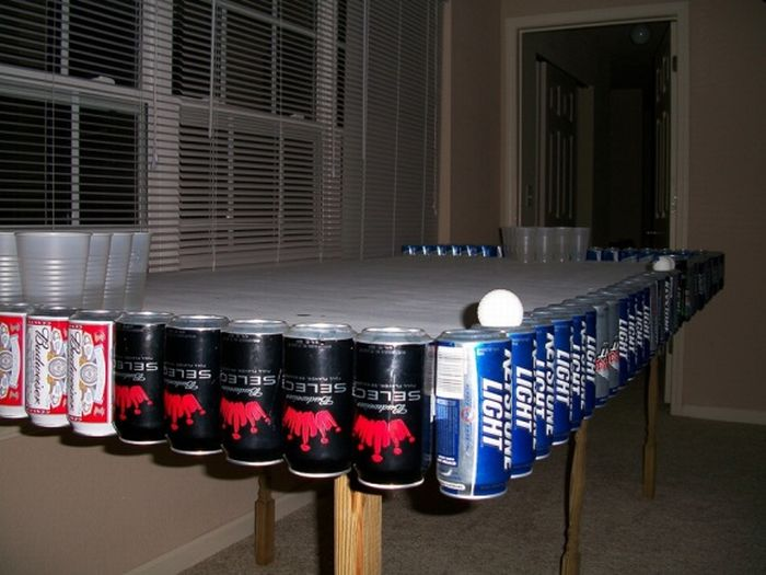 Damn Fresh Pics Awesome Beer Pong Tables