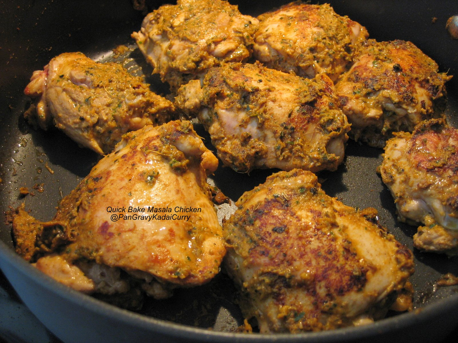 Pan Gravy Kadai Curry Recipereplica Quick Bake Quot Masala