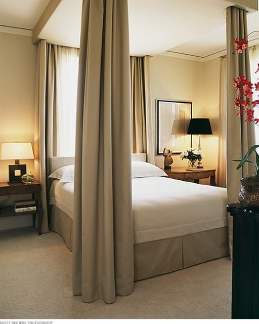 Houzz Marketing For Interior Designers: High Street Market: A Draped Bed