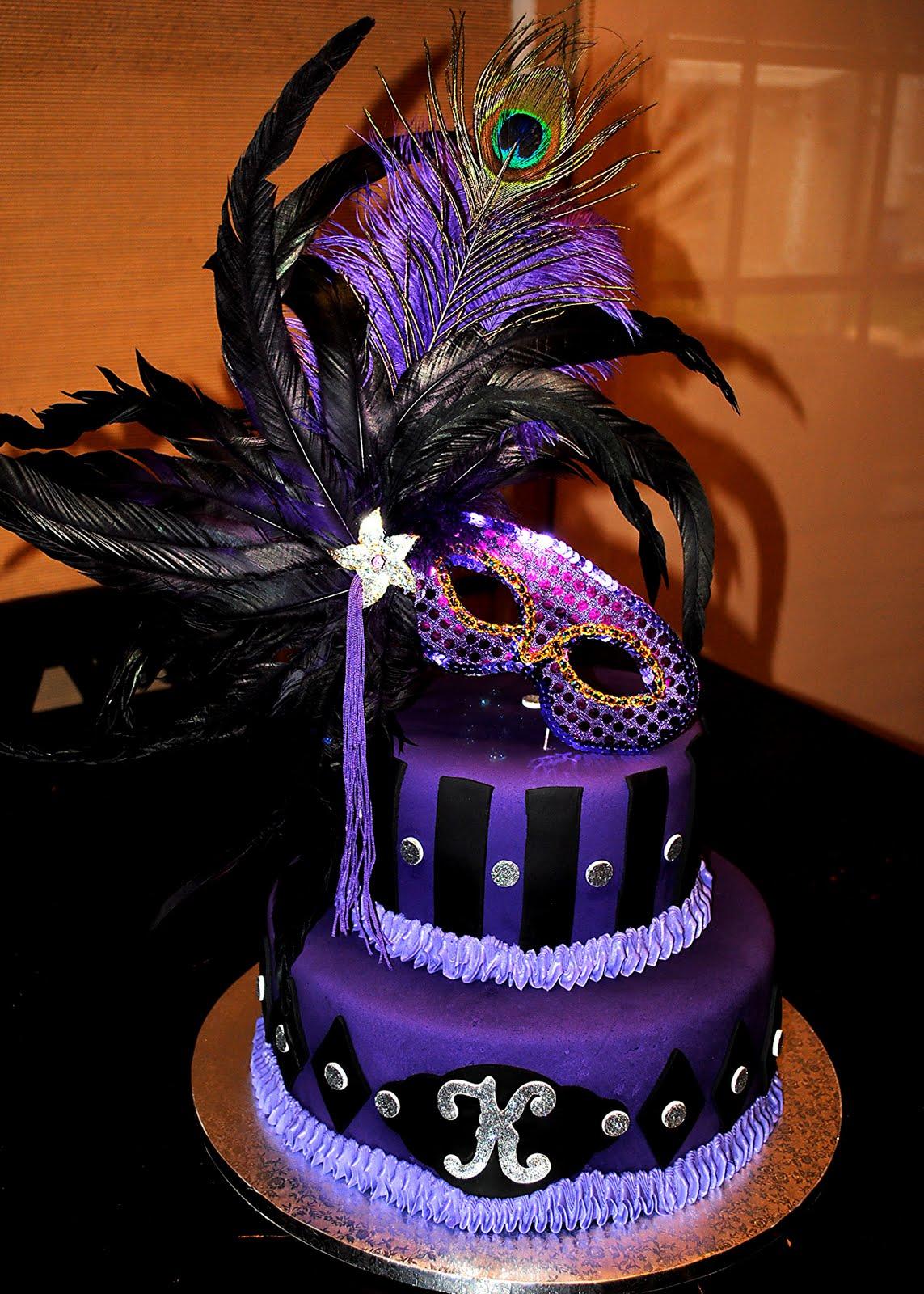 E S Treats Purple Masquerade
