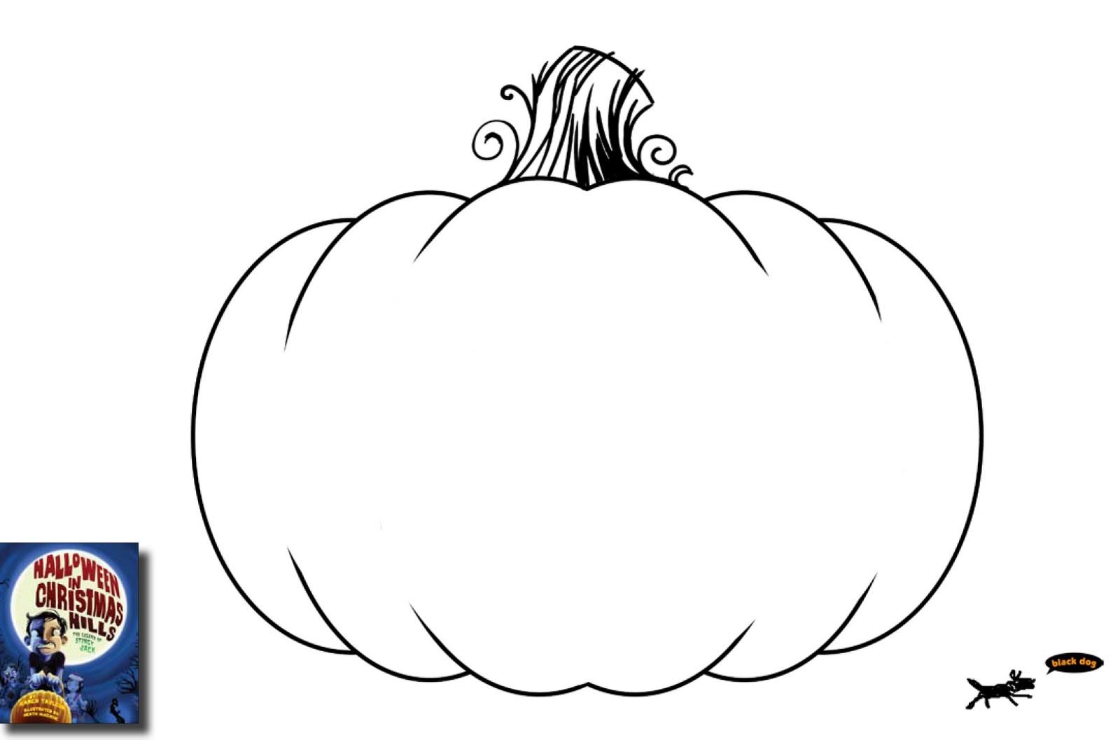 Download Free Blank Pumpkin Templates