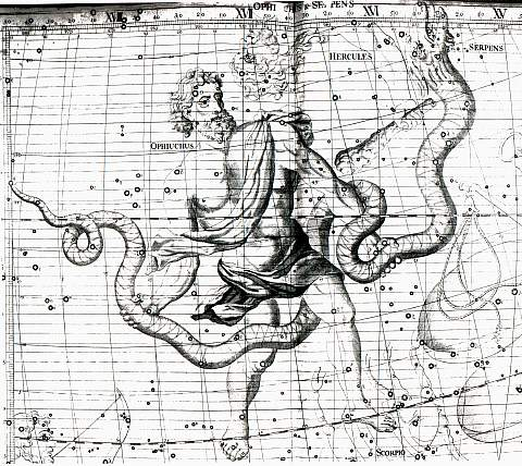 Simostronomy: Ophiuchus- the 13th Sign of the Zodiac