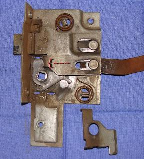1950 Dodge Pickup Project: Fix that door latch mechanism