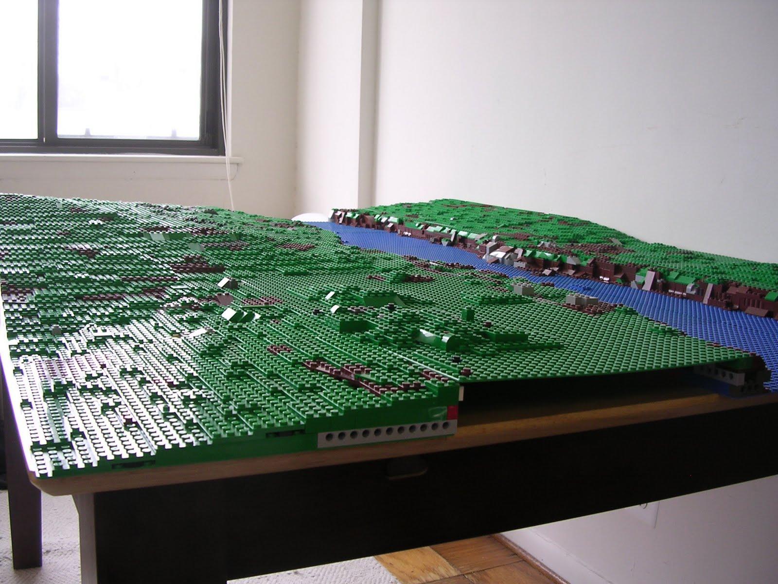 LEGO Military Models: Modular Landscaping and BrickFair ...