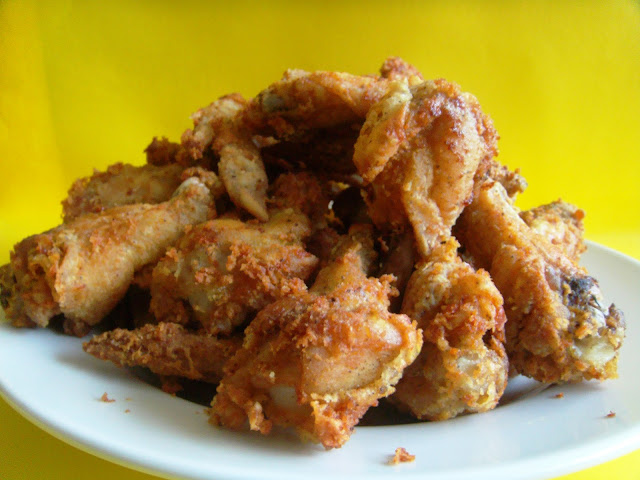 how to make crunchy chicken wings