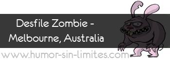 Desfile Zombie - Melbourne, Australia