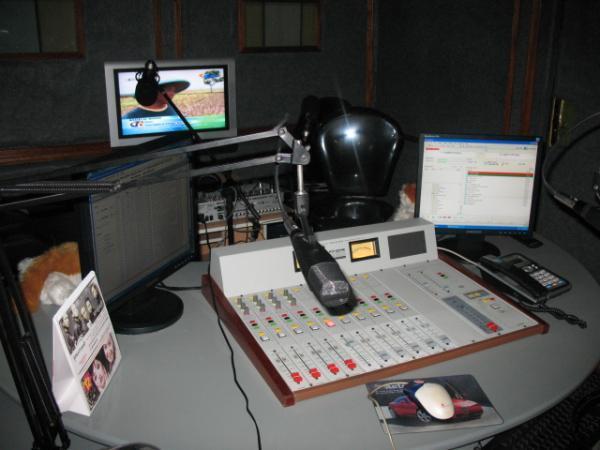 Dunia Radio Tv Design Interior Studio Siaran Radio