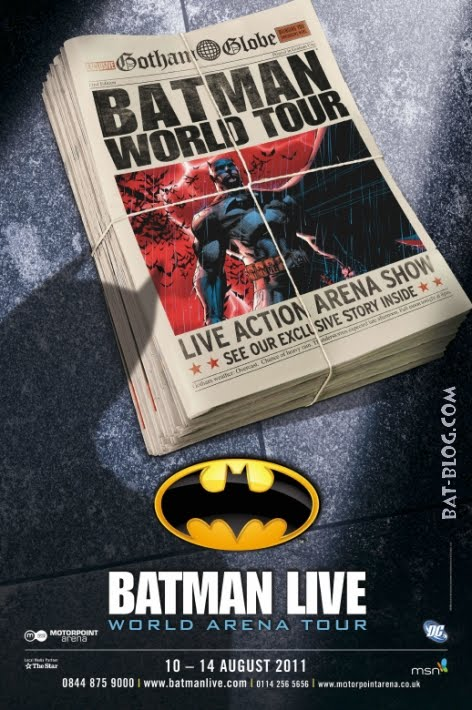 Holy Spider Webs- 'Batman -Live' Hits The UK
