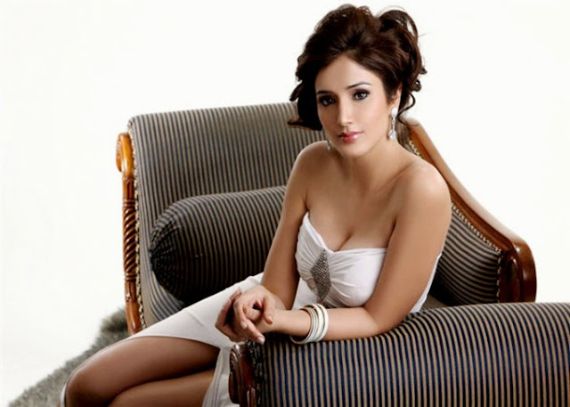 Actress Navina in hot white
