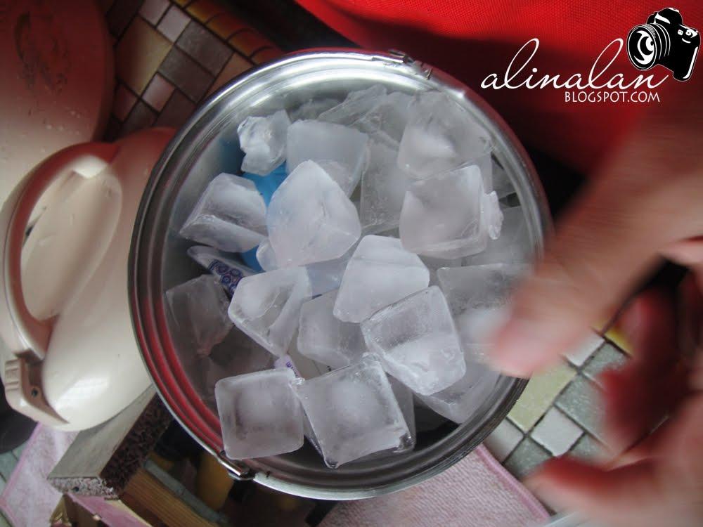 Step 3 Pastu Penuhkan Ice Secukup Rasa Di Atas Skali Bekas Tuh