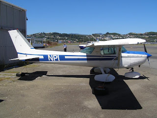 New Plymouth Aero Club, Cessna F152, ZK-NPI