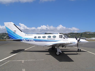Air Manawatu, Cessna 421 Golden Eagle, ZK-TRC
