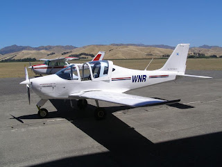Tecnam P2002 Sierra, ZK-WNR, Marlborough Aero Club