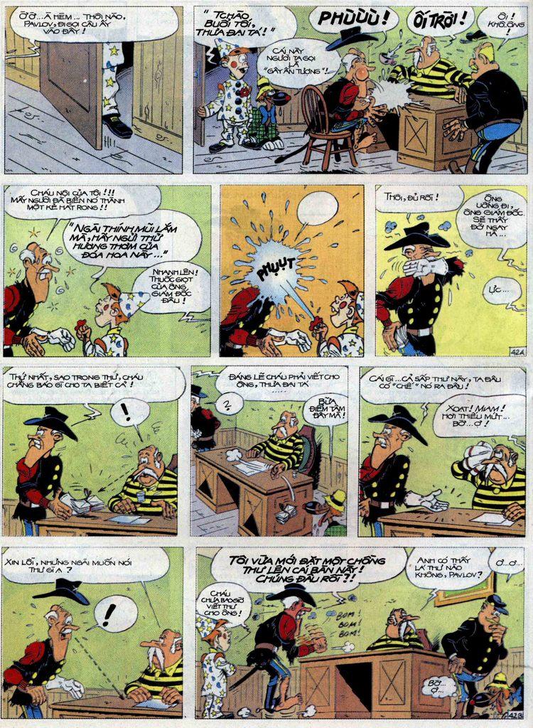 Lucky Luke tập 71 trang 42