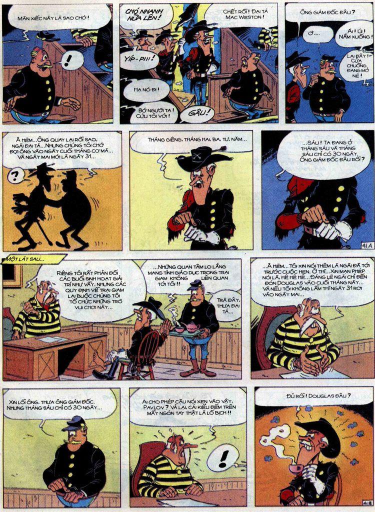 Lucky Luke tập 71 trang 41