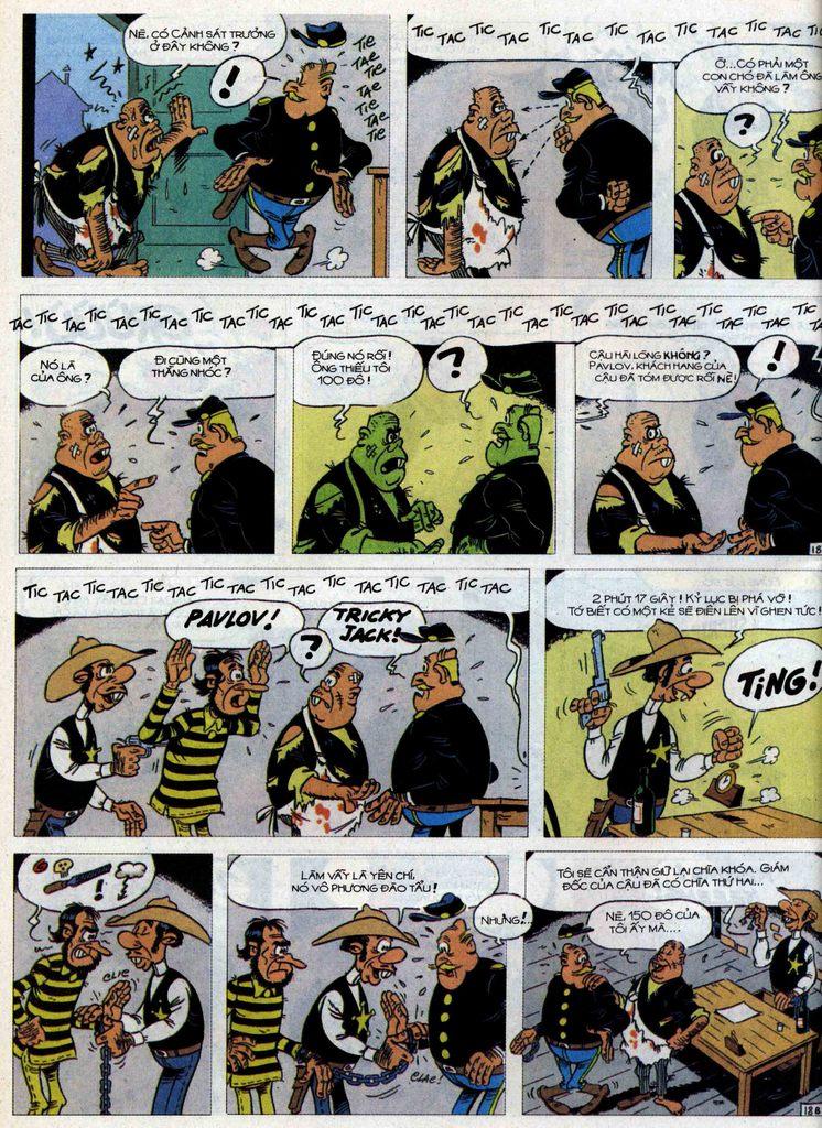 Lucky Luke tập 71 trang 18