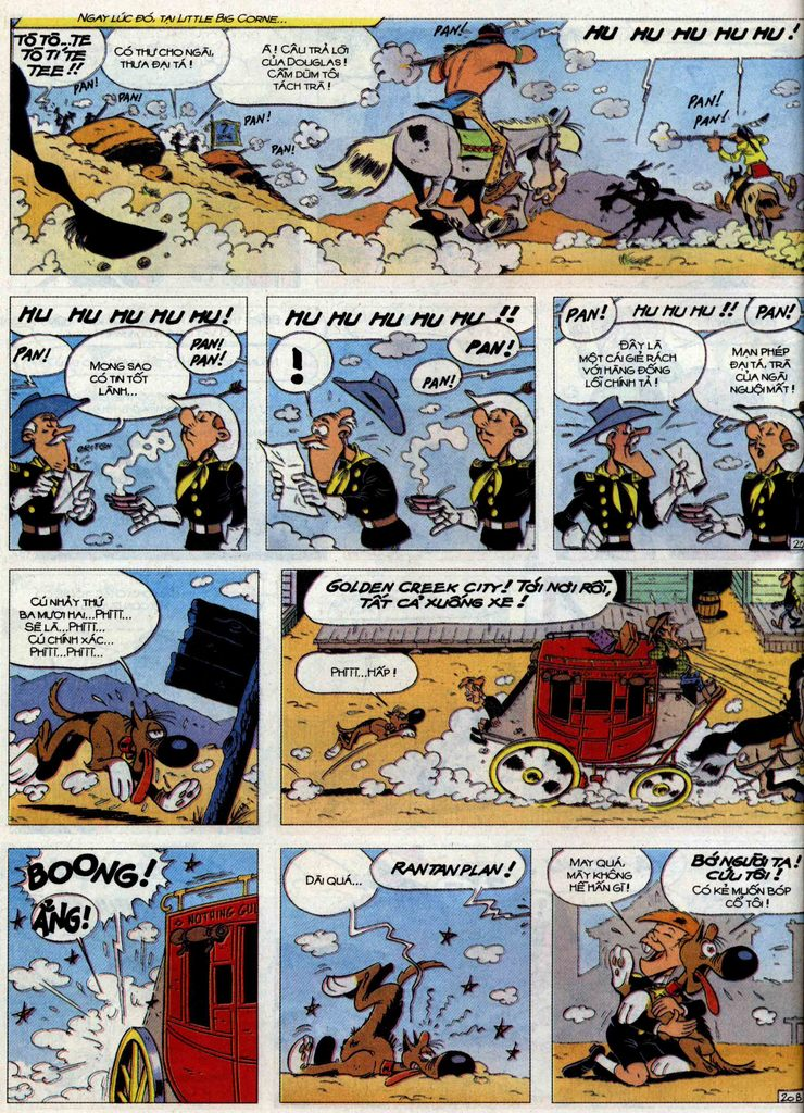 Lucky Luke tập 71 trang 20