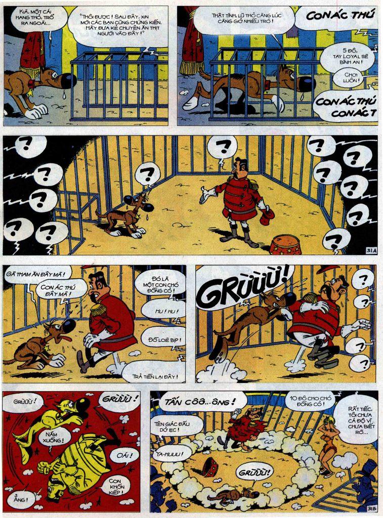 Lucky Luke tập 71 trang 31