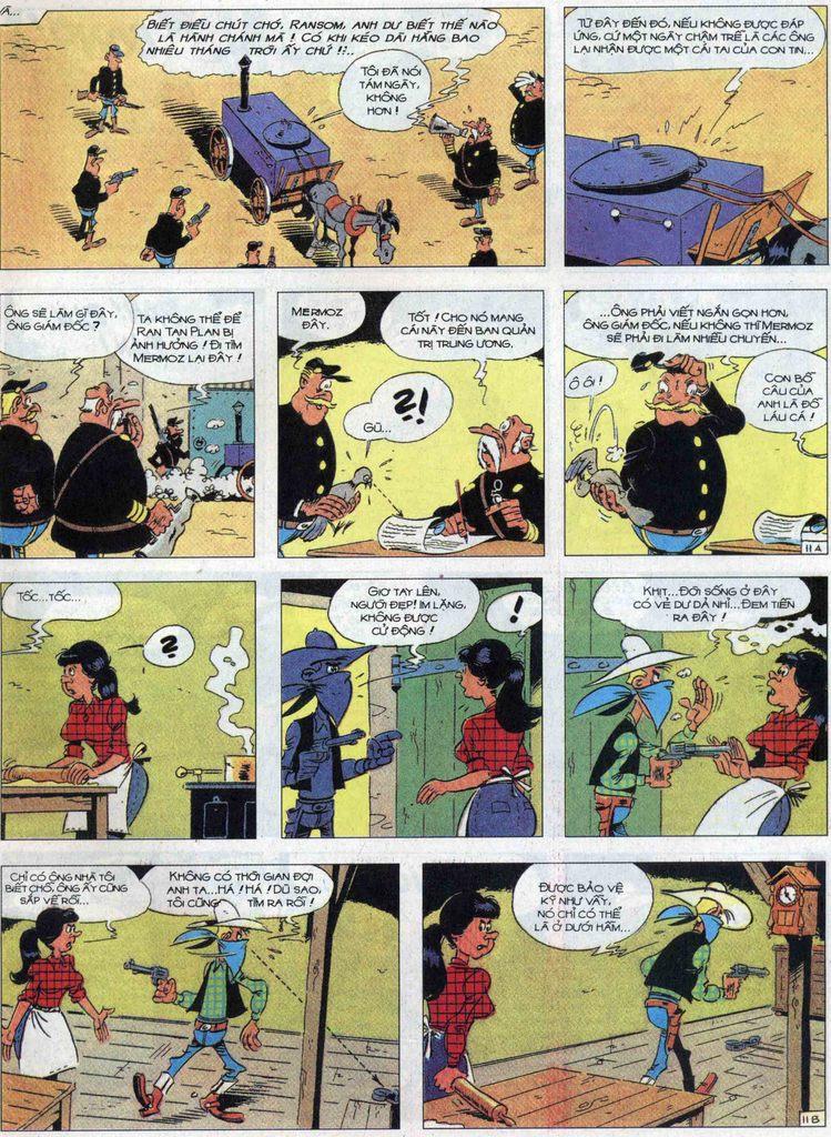 Lucky Luke tập 68 trang 11
