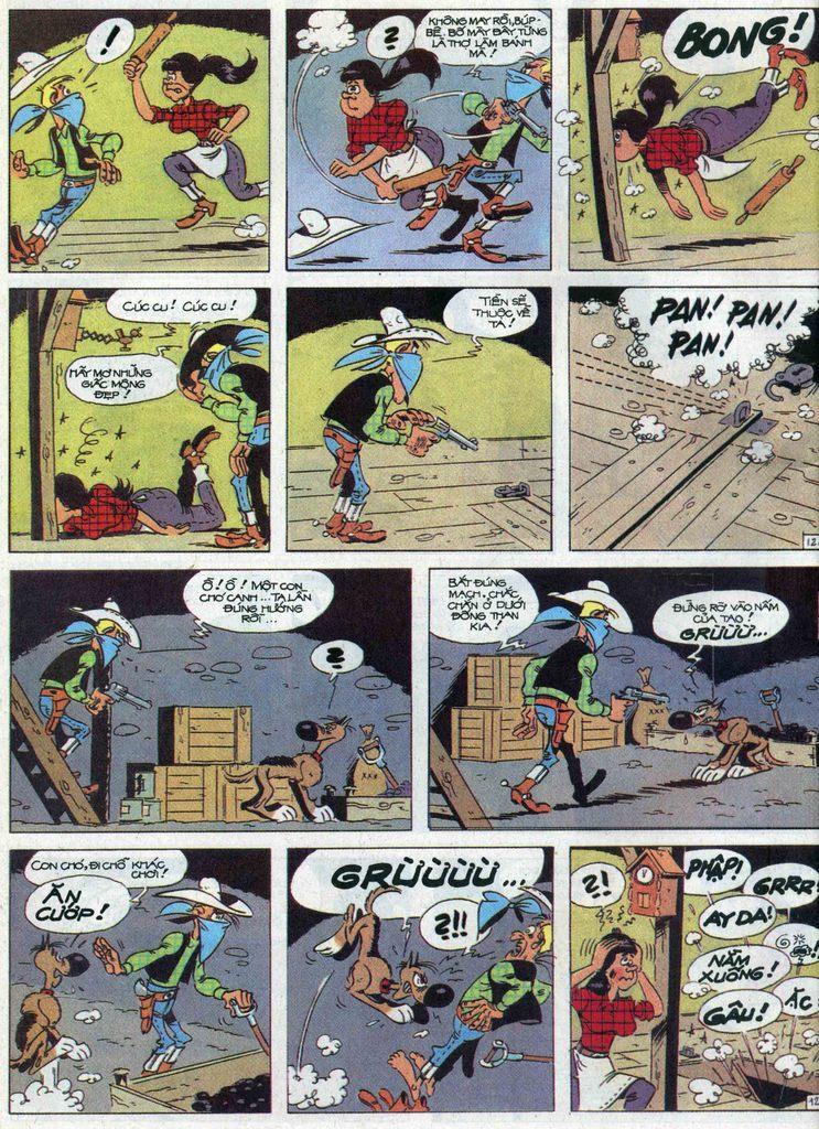 Lucky Luke tập 68 trang 12