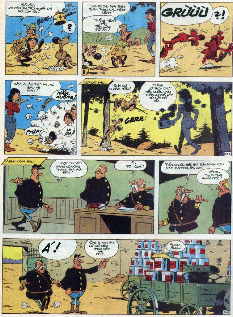 Lucky Luke tập 68 trang 14
