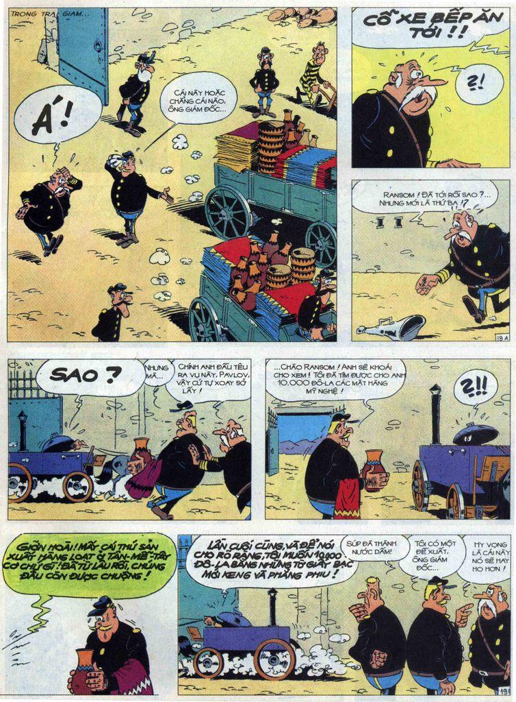 Lucky Luke tập 68 trang 19