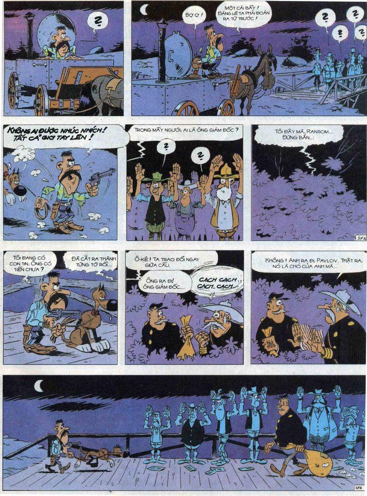 Lucky Luke tập 68 trang 37